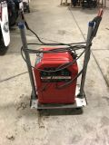 Lincoln electric ARC welder model AC 225 with cart