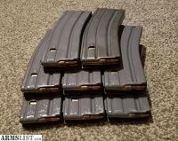 For Sale: 8 Loaded AR-15 Magazines