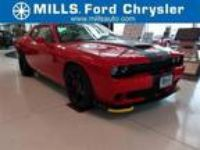 2017 Dodge Challenger Red, 15 miles