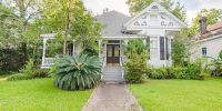 Historic Home with 5 Wood Burning Fireplaces Near Downtown Mobile!