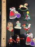 Christmas pins and earrings!