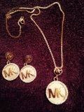 MK necklace set