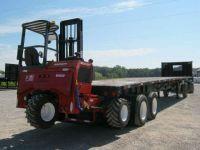 $18,900, 2006 Utility Moffett Forklift Trailer