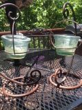 patio candle holders