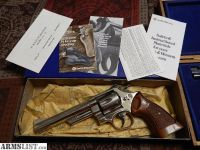 For Sale: Beautiful Smith & Wesson Model 29-2 (44 Mag Dirty Harry) NICKEL in Original Box/Papaers Made in 1980