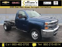 2018 Chevrolet Silverado 3500HD Work Truck (Deep Ocean Blue Metallic)