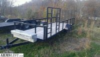 For Sale/Trade: 6x16 utility trailer
