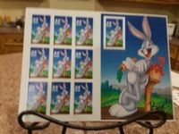 Looney Tunes sheet of 10 stamps