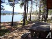 $195 / 4 BR - Lakeside Log Home, beach/boat dock, firepit, sleeps 10 (Donnell