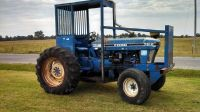 Ford 7610 Tractor- 2 wheel Drive