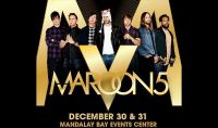 Maroon 5 floor seats in Vegas for New Year's!