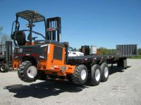 $19,900, 2004 Great Dane Trailers 45#39; Flatbed Moffett-Princeton Forklift Trailer