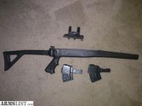 For Sale: SKS tactical folding stock w/leapers scope mount and 2 mags