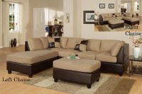 $529, 3pc Microfiber sectionals