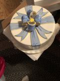 Cake plate with lid