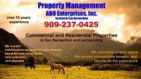 San Bernardino, CA Property Management