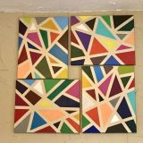 Set of 4 paintings on canvas, 16 x 20