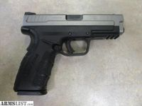 For Sale: Springfield XD Mod 2 4.0 Service Model Bi Tone Semi Auto 9mm Pistol