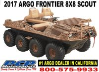 2017 Argo Frontier 8x8 Scout S Utility ATVs Sacramento, CA