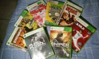 $55, 8 Xbox 360 Video Games