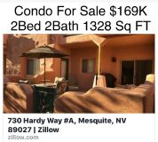 Condo For Sale 2 Bed 2 Bath