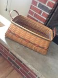 2002 longaberger treasures basket with protector