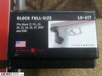 For Sale/Trade: Glock Crimson Trace LG-617 grip Laser for Glock 17 , 22 , 21sf brand new in box