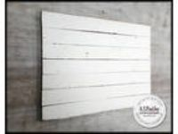 Wooden Photo Background Distressed White Blank Pallet Food