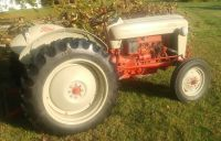 1953 FORD GOLDEN JUBILEE NAA TRACTORS