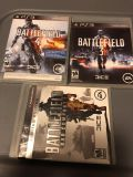 Battlefield 2 3 4 for PS3