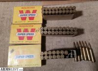 For Sale: (3) 1962 Winchester 264 Magnum Boxes Ammo 58 Total Rnds
