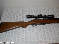 For Sale: Ruger Mini 14 w/ scope