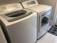Matching LG Top Load HE Washer and Dryer Set