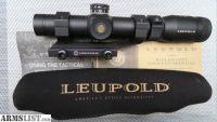 For Sale: LEUPOLD 1.25-4X VXR PATROL