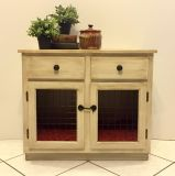 Pet crate table