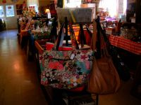 purses galore.some are new,others gently used