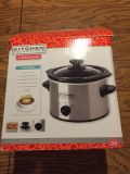 Kitchen Selectives 1.5 quart slow cooker (new)