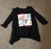 Girl s Justice Sweater, Size 10