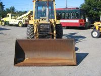 $2,550, nice tractor Ford 555A XL Backhoe Loader