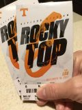Two tickets Tennessee/LSU game 11/18 7 pm