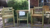 Table and 2 Chairs For Sale New!
