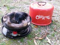 Big red camp firer