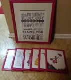 (7) MATCHING WALL DECOR......EXCELLENT CONDITION