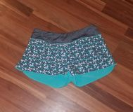 Euc, womens MPG running shorts with inner shell liner, size small