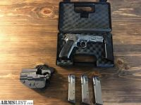 For Sale: CZ 75b polished stainless