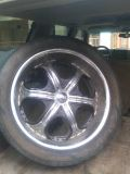 22  rims and tires