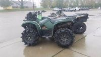 2014 Yamaha GRIZZLY 700 Utility ATVs Columbus, OH