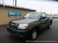 2009 Toyota Tacoma 2WD Reg I4 MT (Natl)