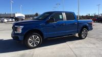 2018 Ford F-150 XL 4WD SuperCrew 5.5' Bo (Lightning Blue)