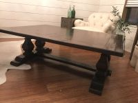 Solid Wood Balustrade Coffee Table